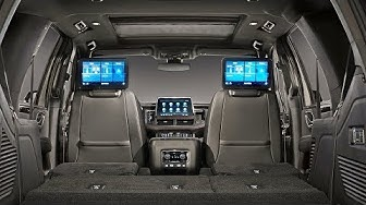 2021 Chevrolet Tahoe a jeho interiér
