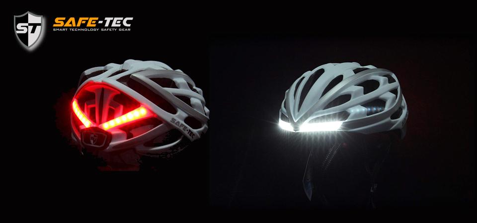 Chytré helmy na kolo s handsfree, blinkry, světly a repro
