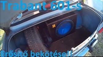 Trabant dostal ozvučení